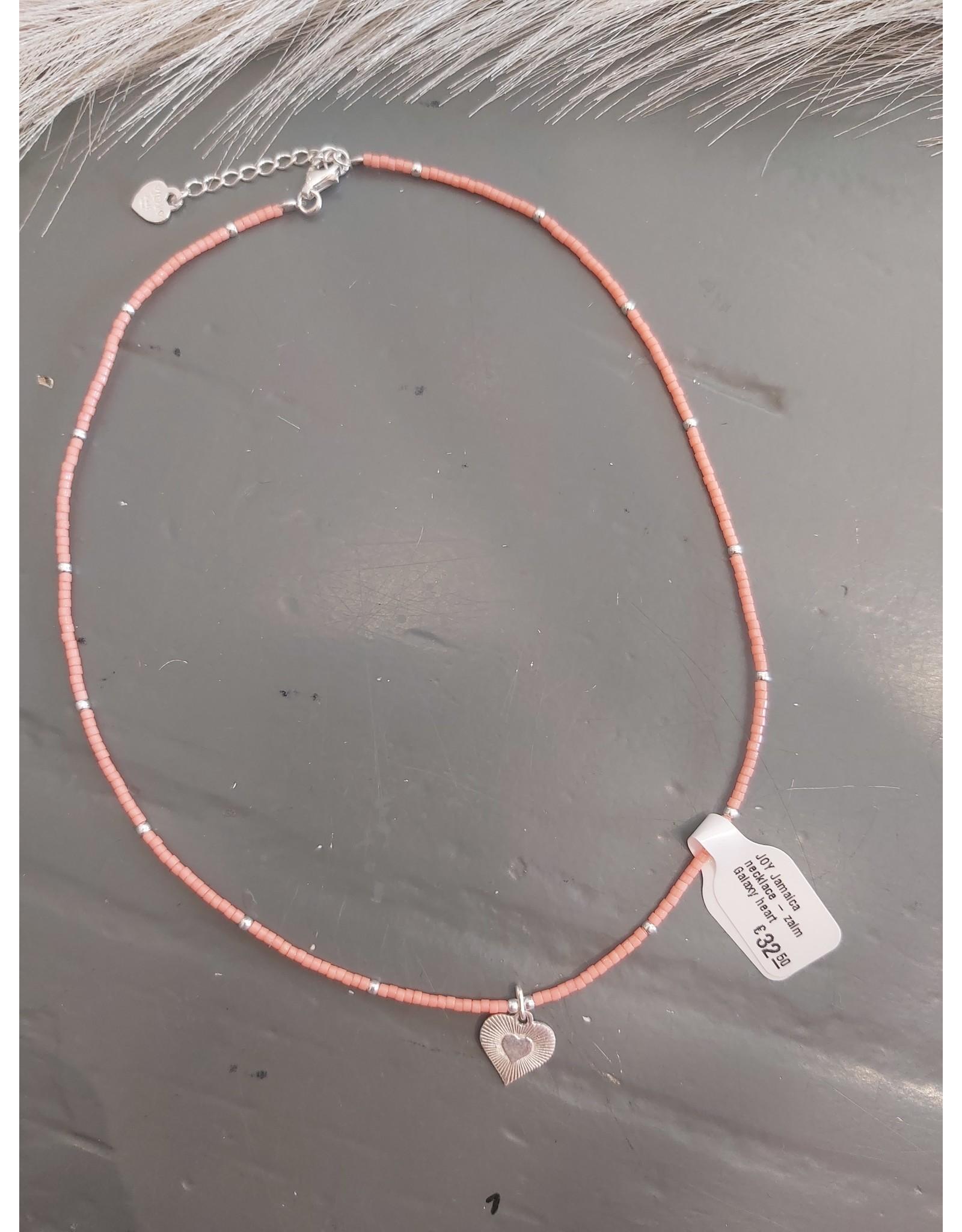 Joy Bali JOY Jamaica necklace - zalm