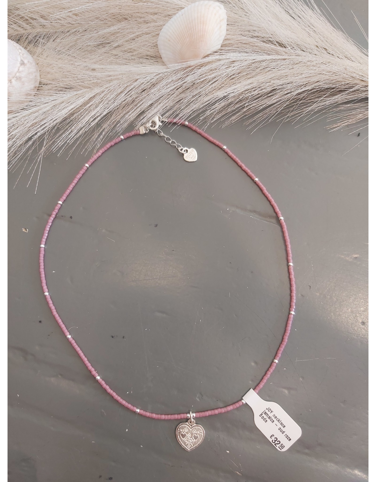 Joy Bali JOY necklace jamaica - oud roze