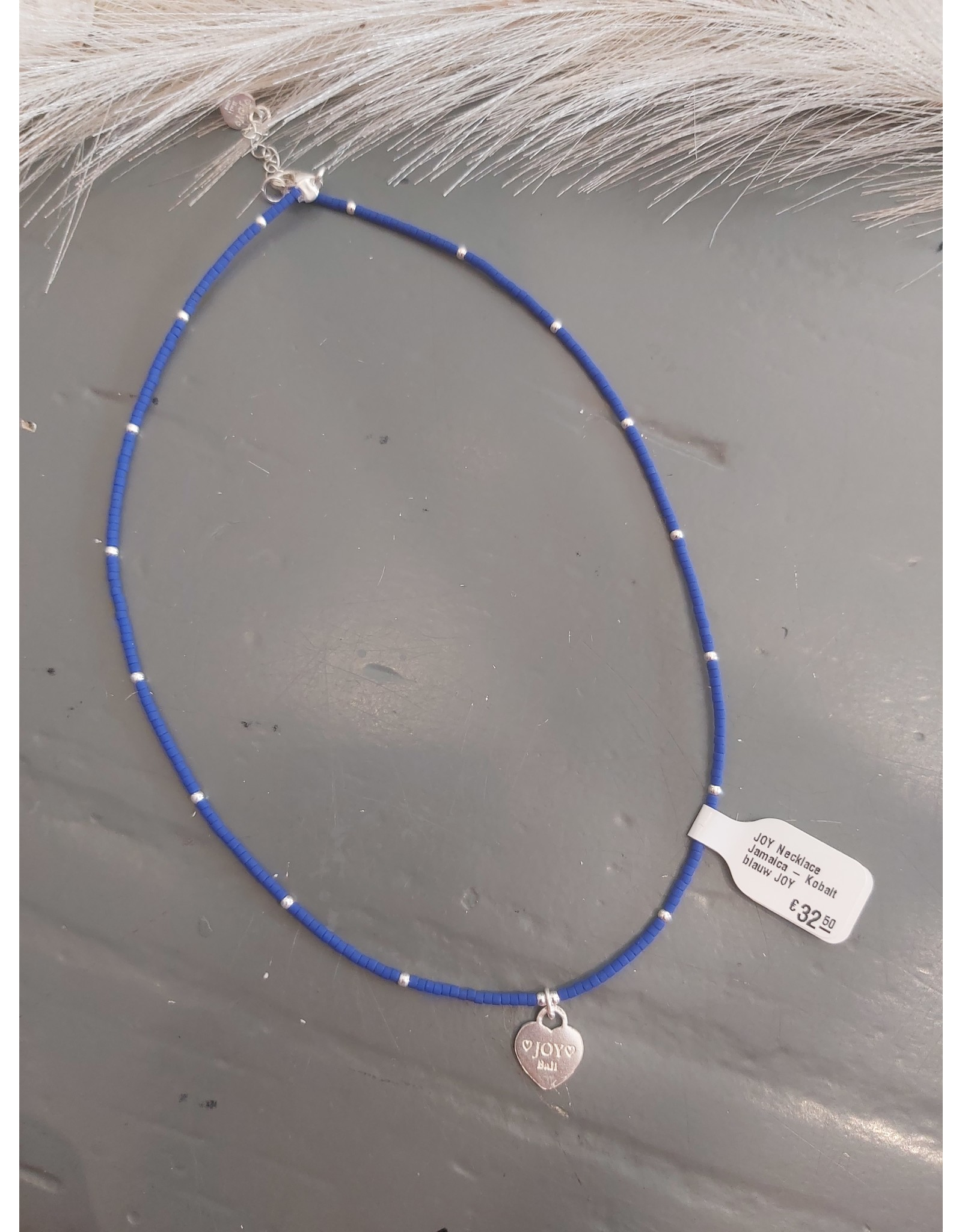 Joy Bali JOY Necklace Jamaica - Kobalt blauw