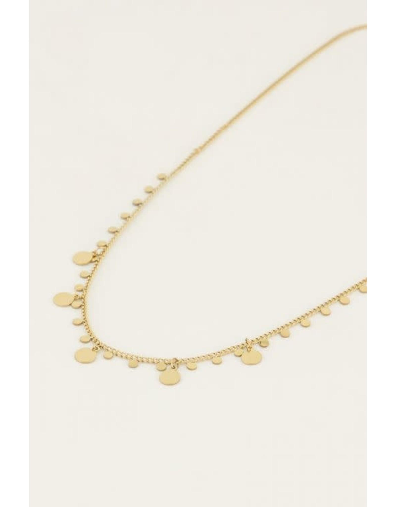 My Jewellery My Jewellery ketting ronde bedels
