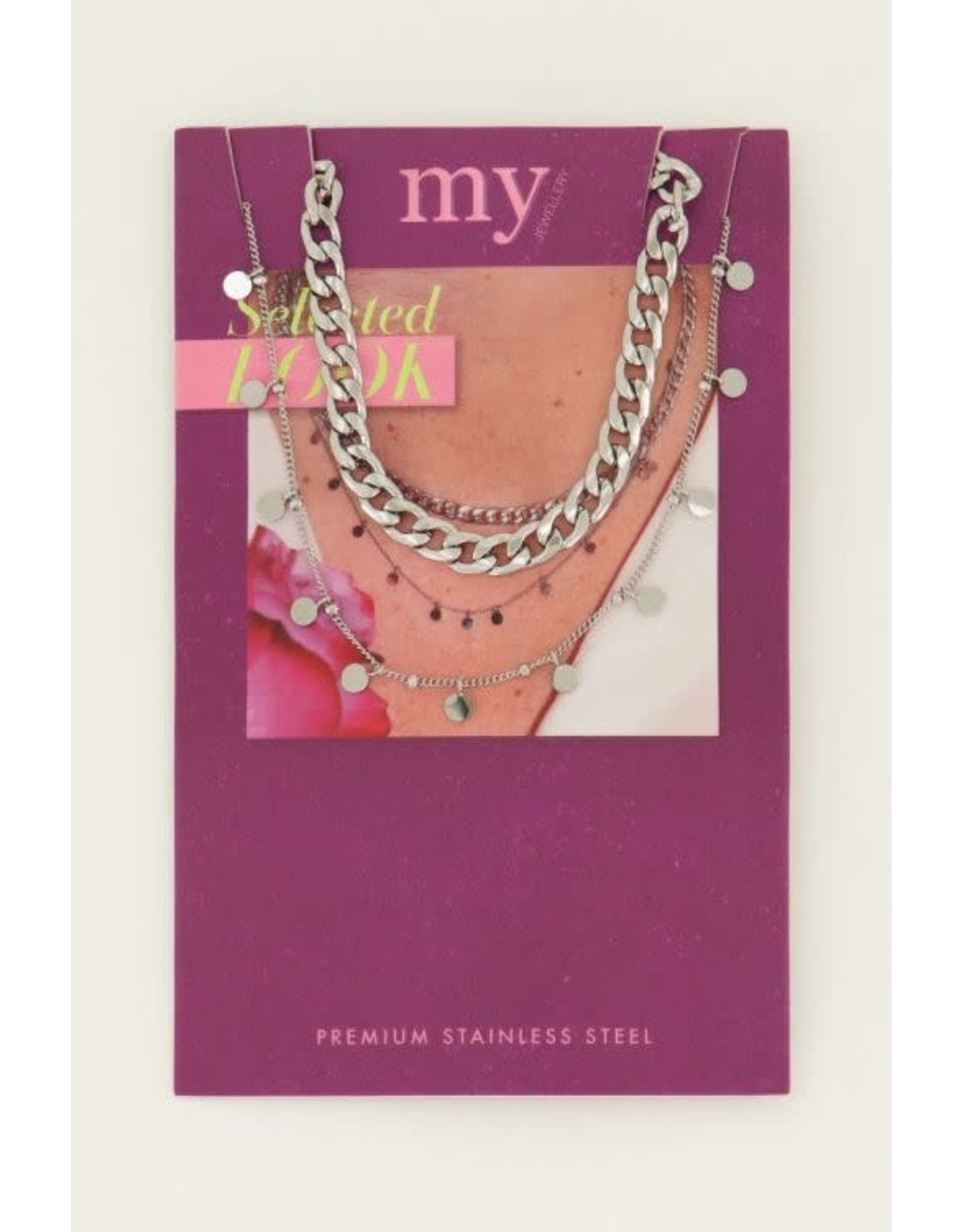 My Jewellery My Jewellery ketting set muntjes