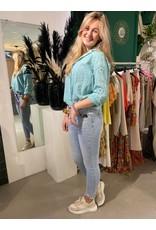 Blouse Nina turquoise