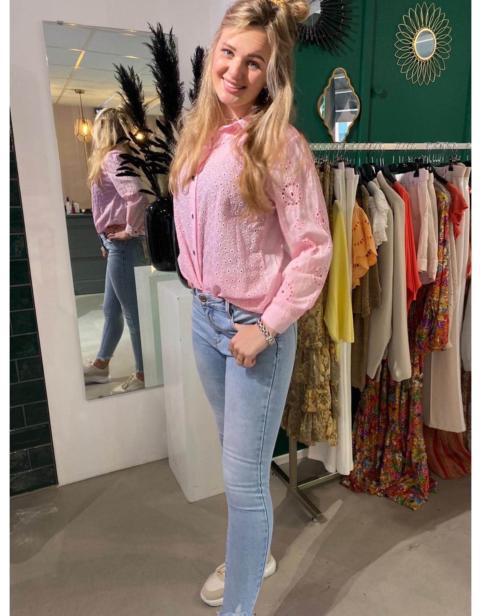 Blouse Nina roze