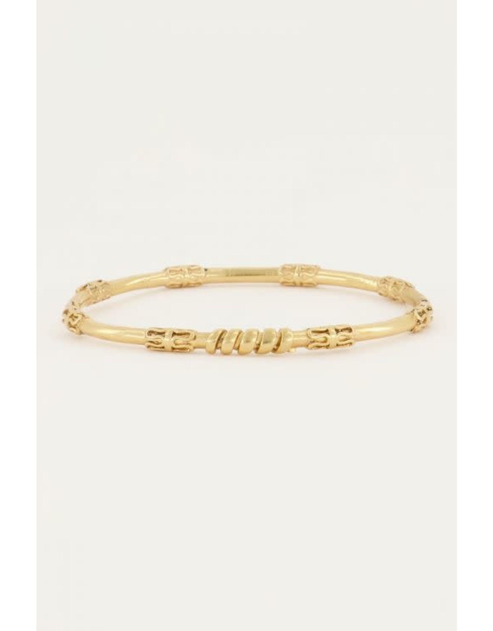 My Jewellery My Jewellery bangle patroon gedraaid