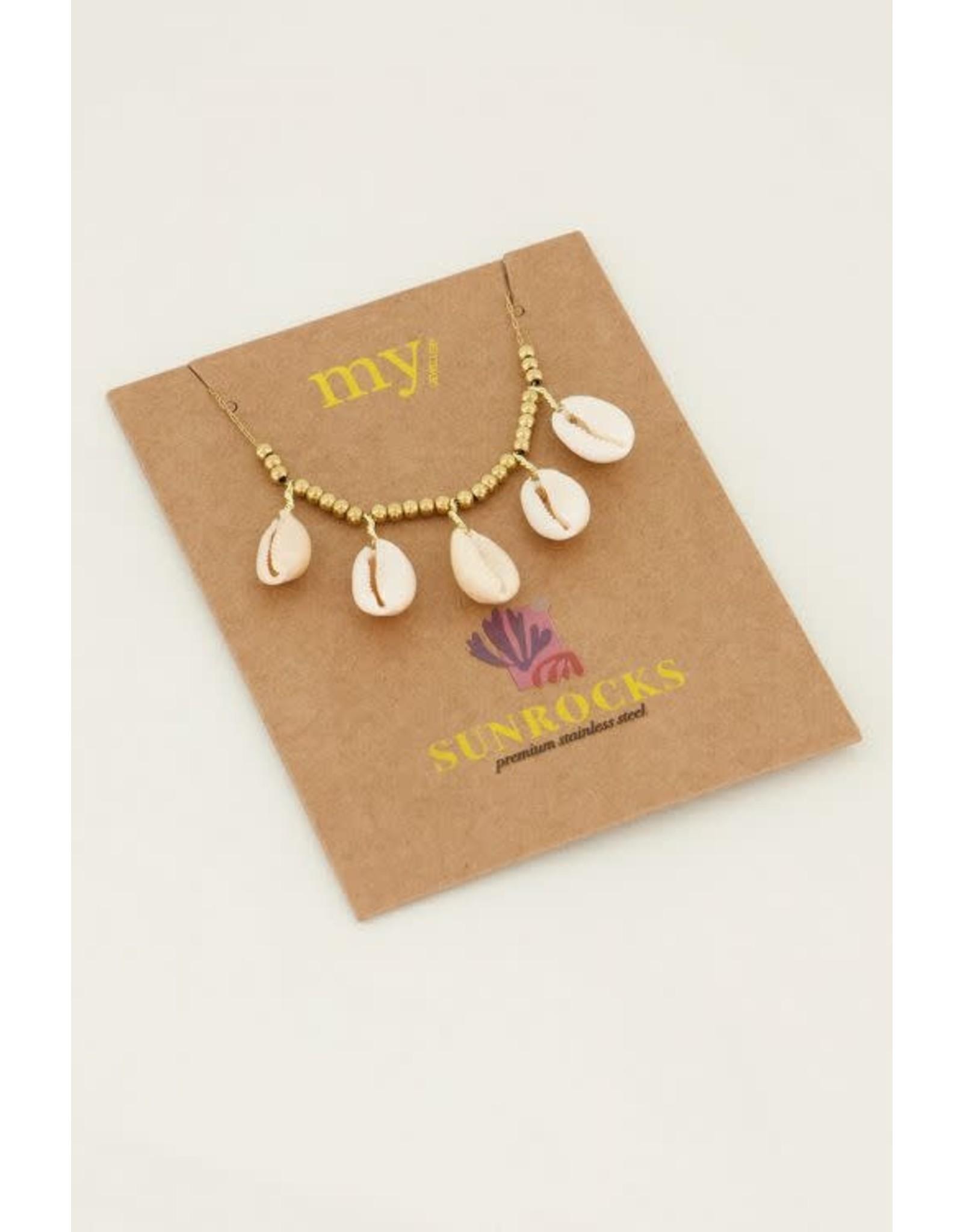 My Jewellery My Jewellery ketting schelpen