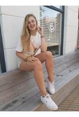 Korte Jeans Lois - beige