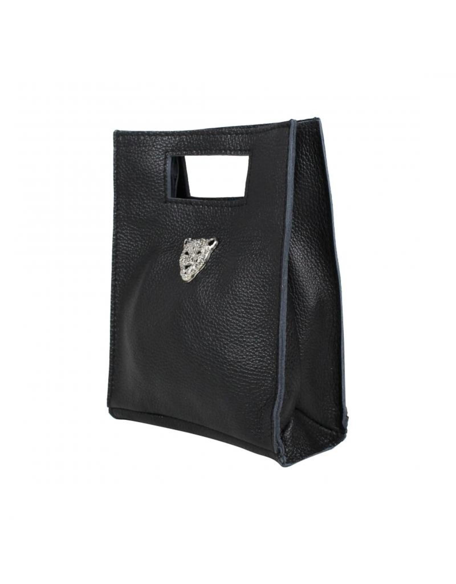 Baggyshop tiger bag  zwart - S