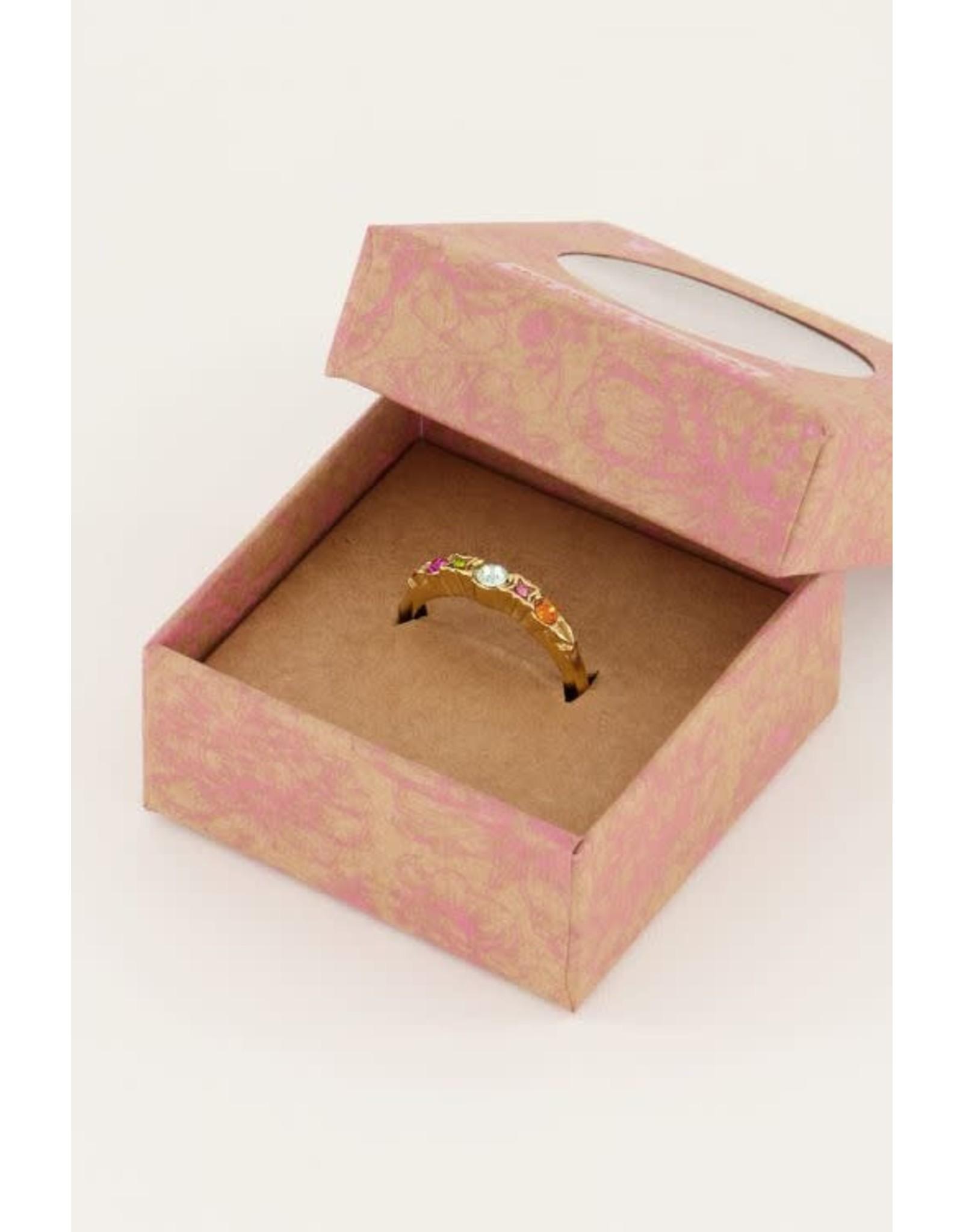 My Jewellery My Jewellery vintage ring multikleur