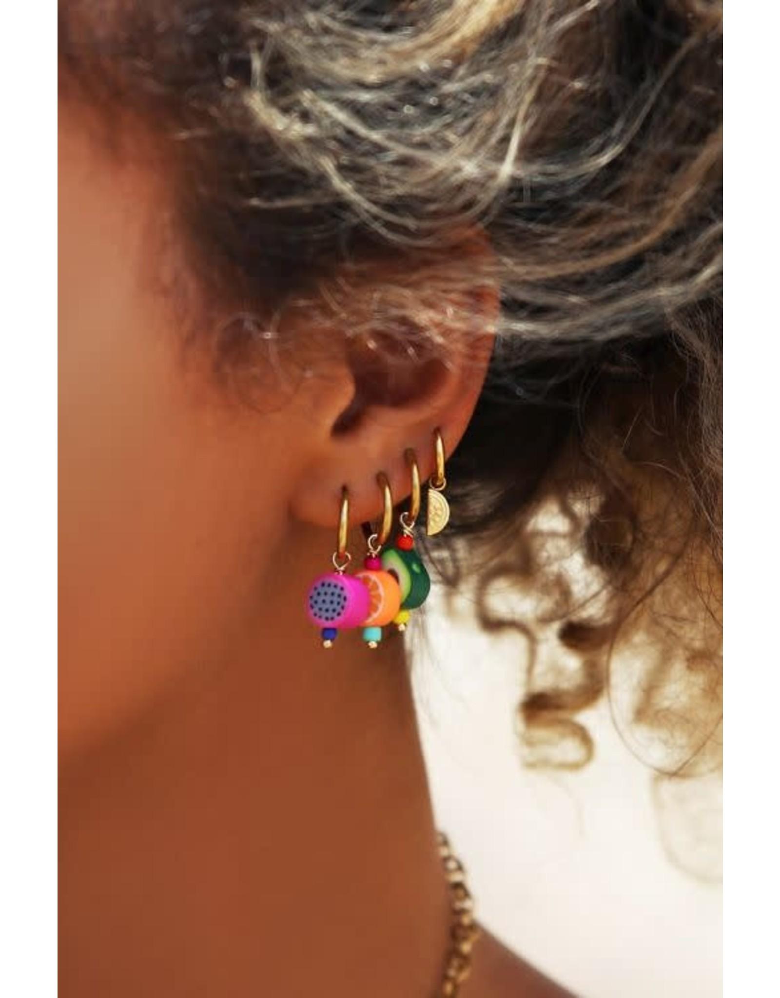 My Jewellery My Jewellery oorringen watermeloen