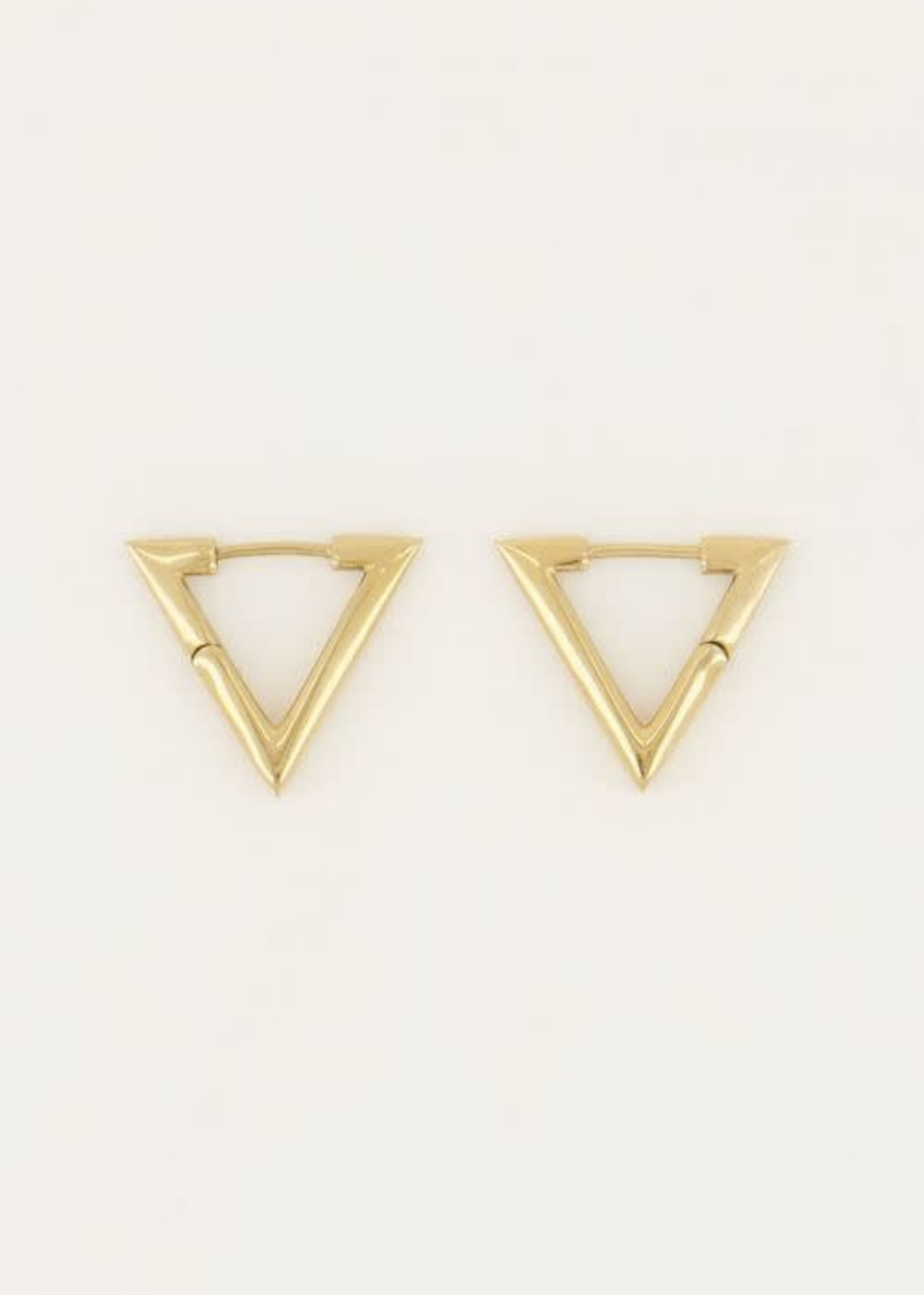 My Jewellery My Jewellery oorbellen driehoek groot