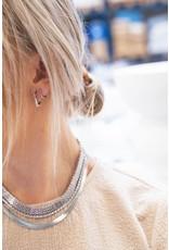 My Jewellery My Jewellery oorbellen vierkant klein
