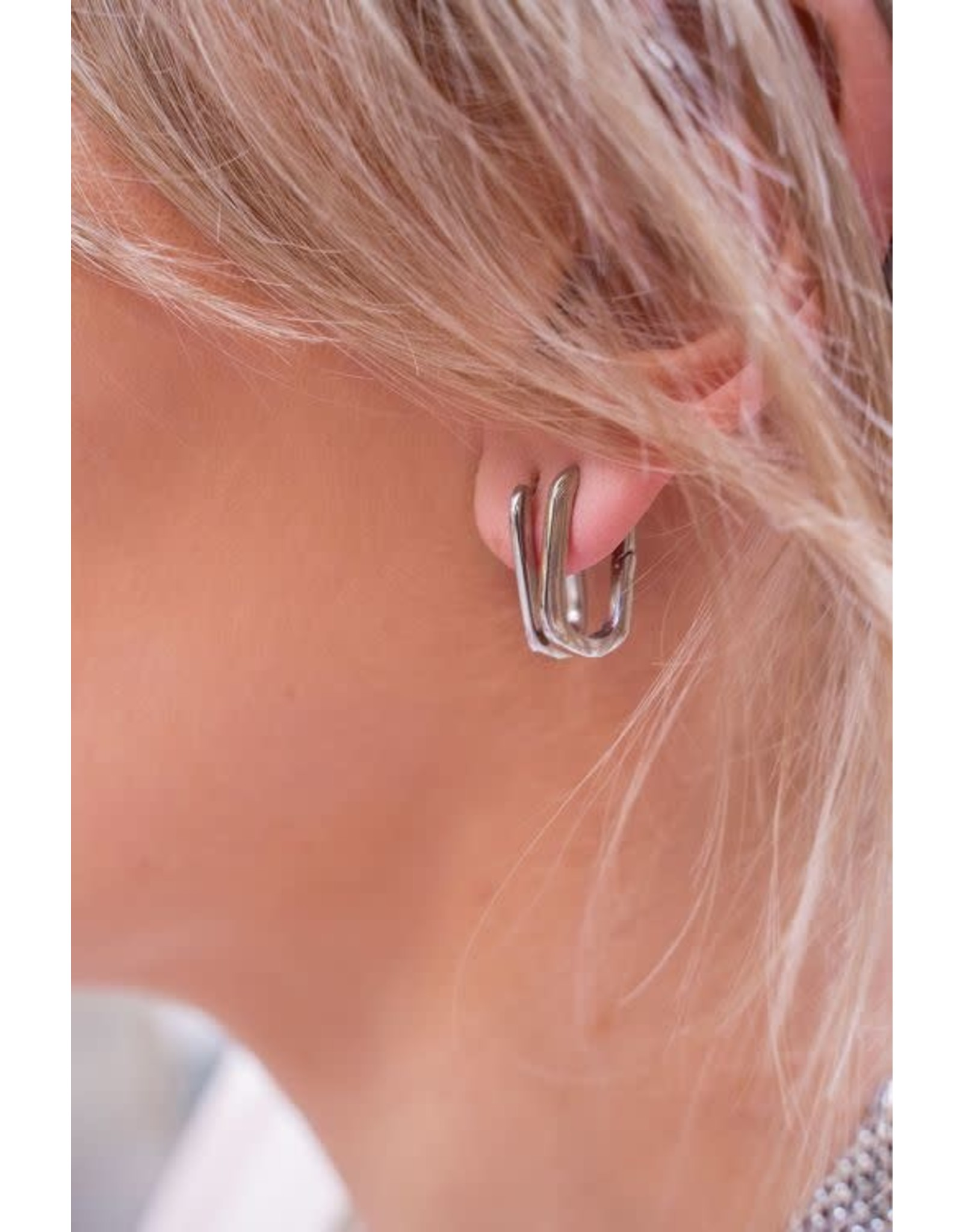 My Jewellery My Jewellery oorbellen ovaal groot