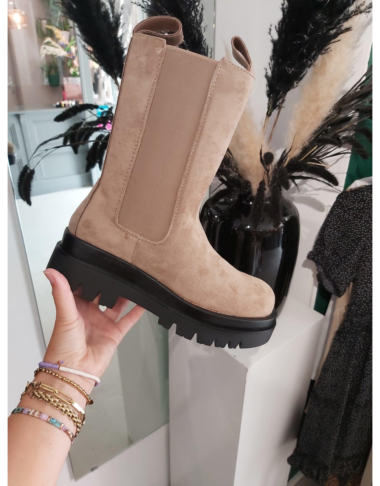 Chelsea Boots - Nude