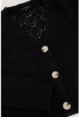 My Jewellery My Jewellery zwart gehaakt vest