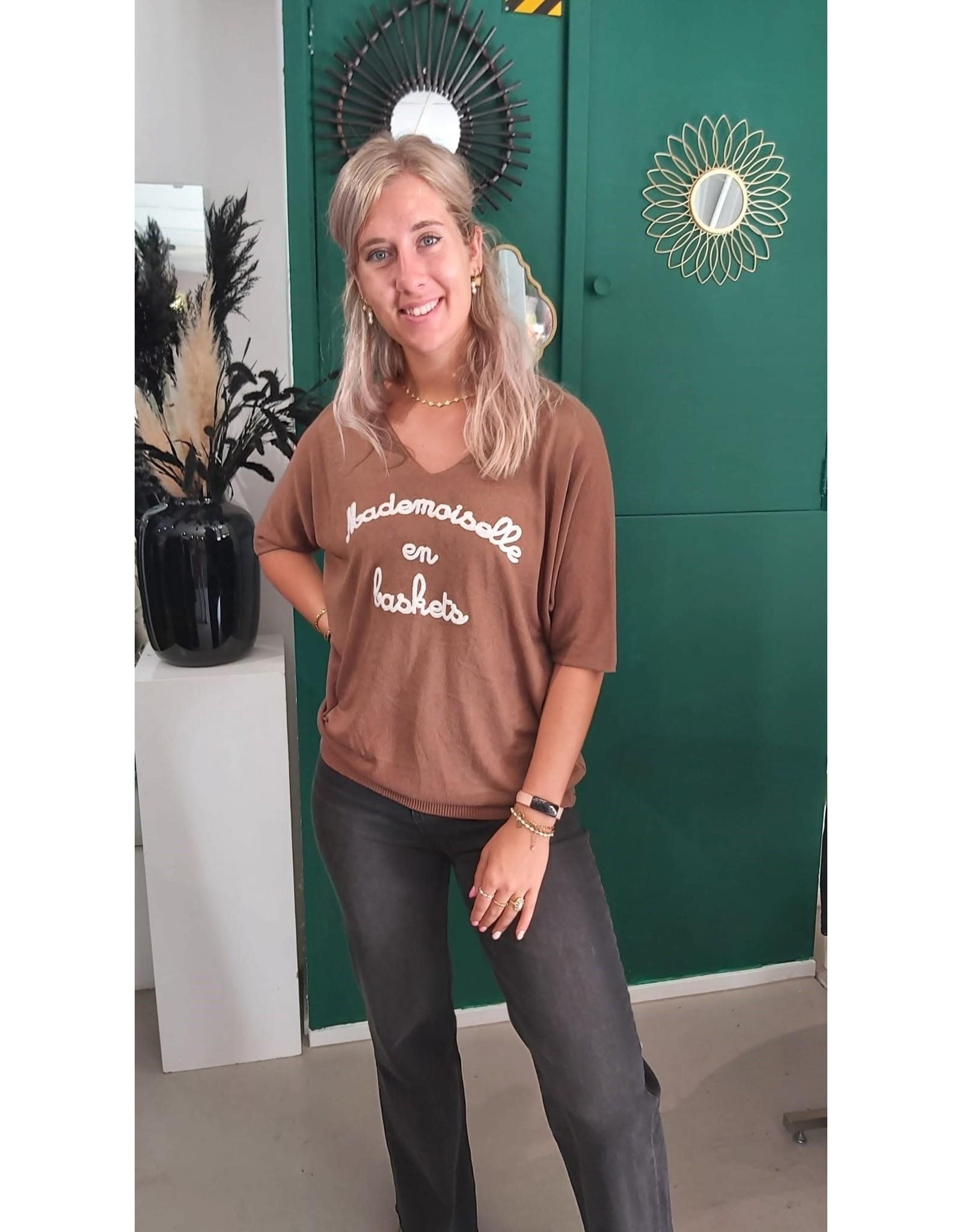 Top Mila - brown