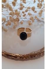 Zag Bijoux ZAG ring Onyx Noir