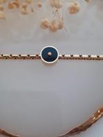 Zag Bijoux ZAG armband Black stone