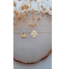 Zag Bijoux ZAG armand klaver goud