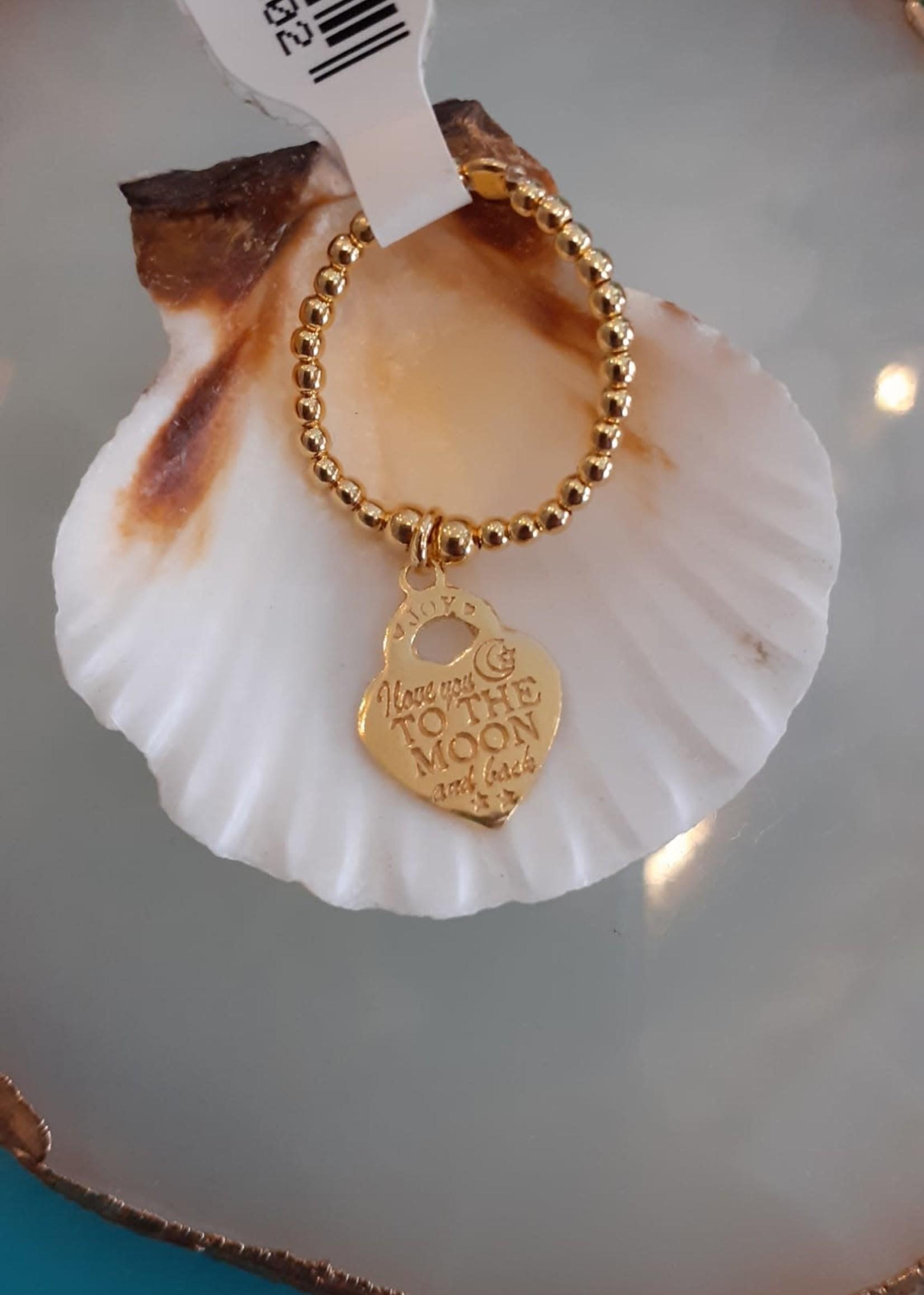 Joy Bali JOY Cenik ring goud - To the Moon