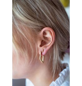 My Jewellery My Jewellery Shapes oorhangers ruit