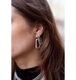 My Jewellery My Jewellery Shapes oorringen rechthoek klein