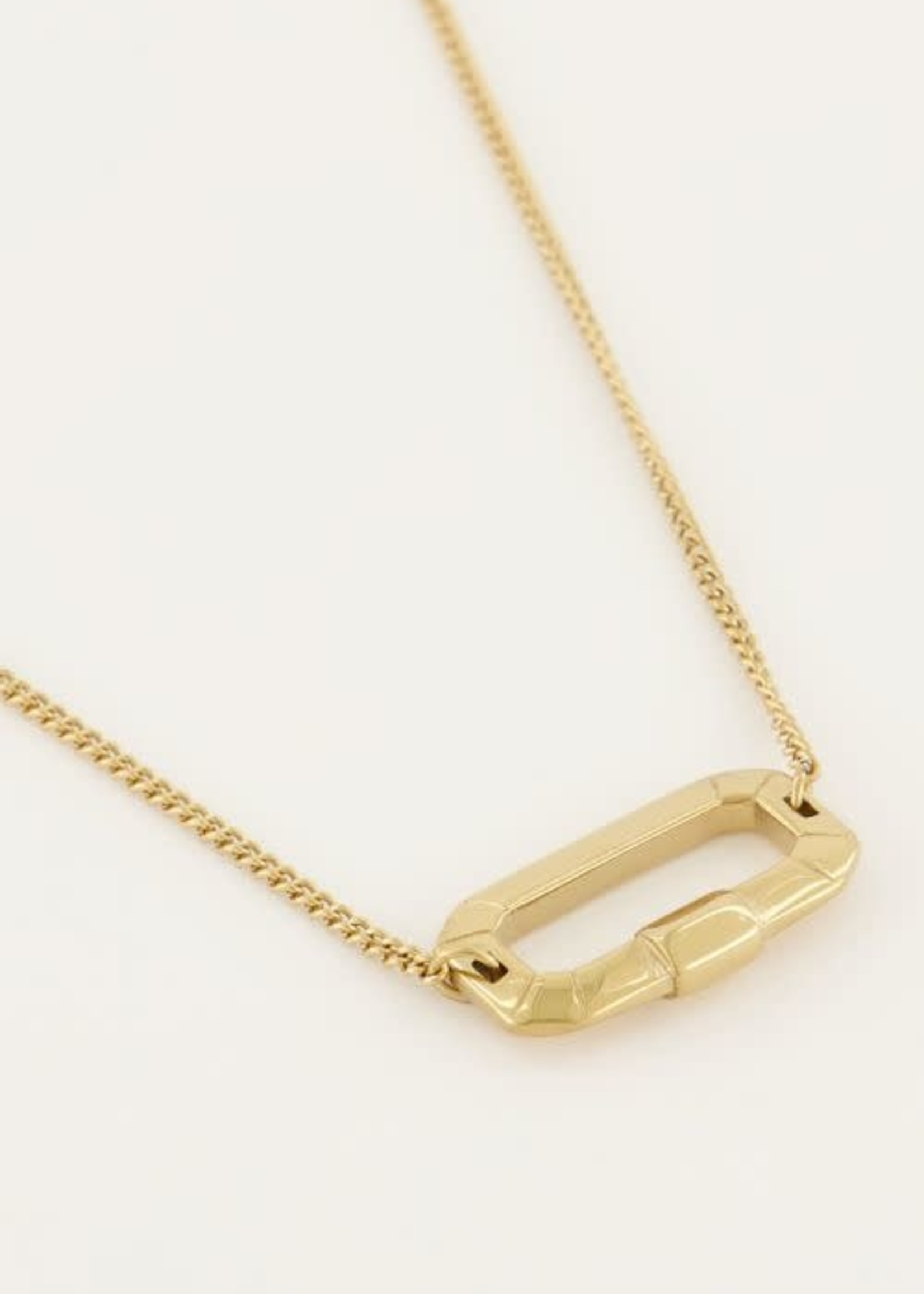 My Jewellery My Jewellery Shapes ketting met rechthoek