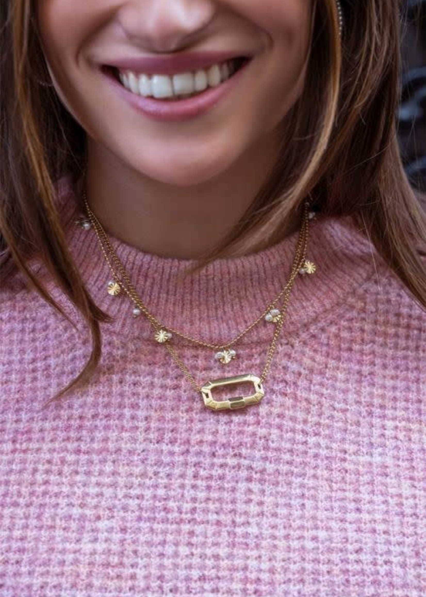 My Jewellery My Jewellery Shapes ketting parels & rondjes