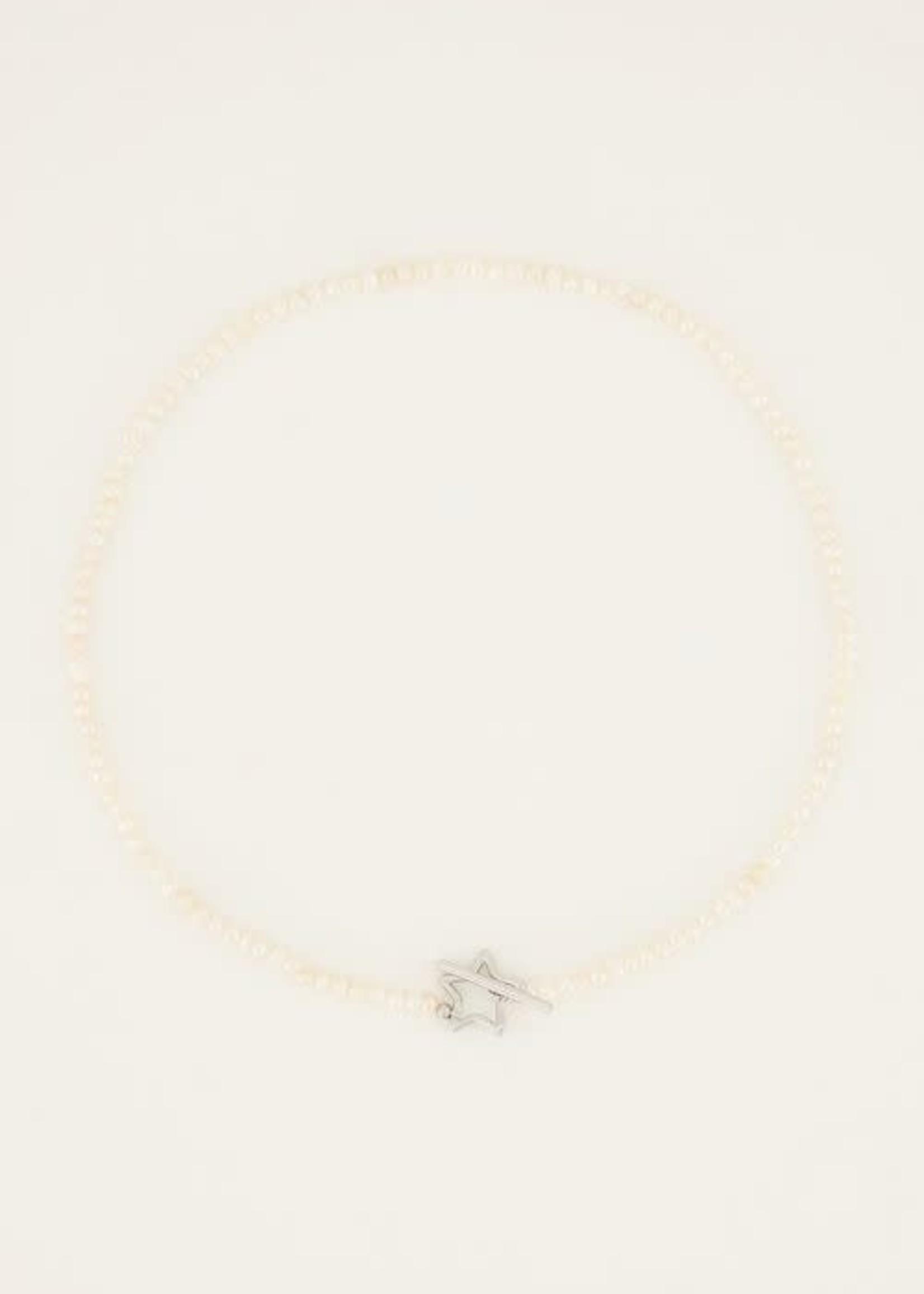 My Jewellery My Jewellery Shapes parelketting met sterretje