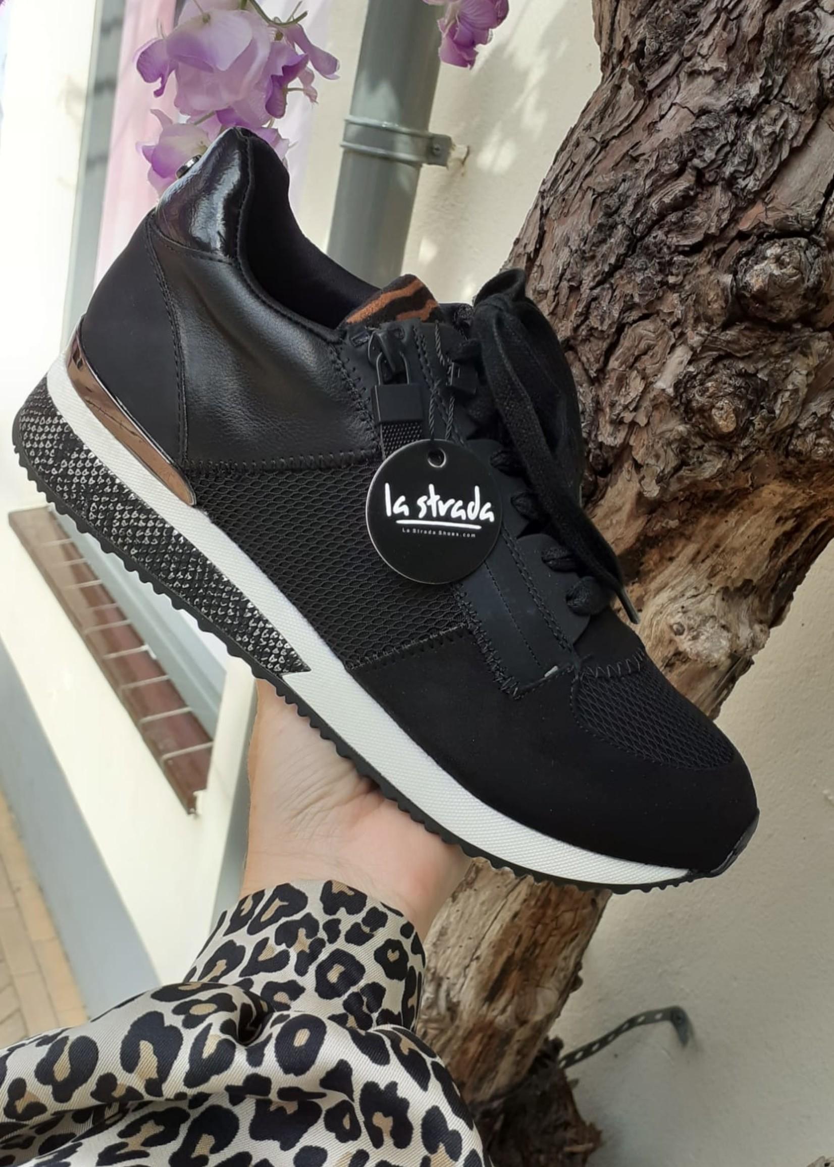 La Strada Sneakers - Zwart