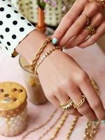 My Jewellery My Jewellery armband gedraaide schakel