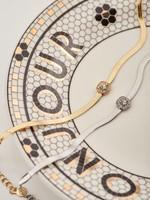 My Jewellery My Jewellery Platte schakelarmband met steentje