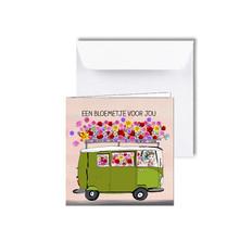 Zeeuwse kaart Bloemenbus, een bloemetje voor jou