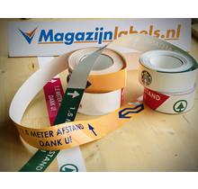 Uni-Line Vloertape Branded 50 mm
