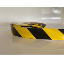Belijningtape geel/zwart