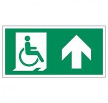 315 Vluchtweg mindervaliden rechtdoor