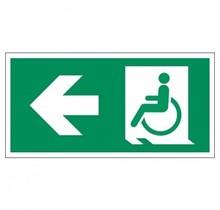 313 Vluchtweg mindervaliden links