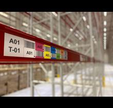 Multilabel  horizontale barcode 70  mm (hoogte)