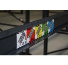 Multilabel 70mm schuine barcode (hoogte)