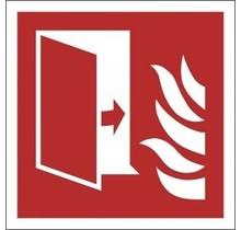 F007 Brandwerende deur