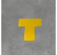 Uni-Floor Vloerlabel T-stuk