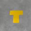 Uni-Floor Uni-Floor Vloerlabel T-stuk