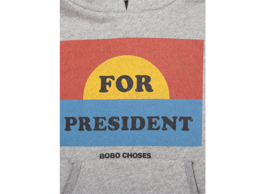 Bobo Choses Hoodie For President
