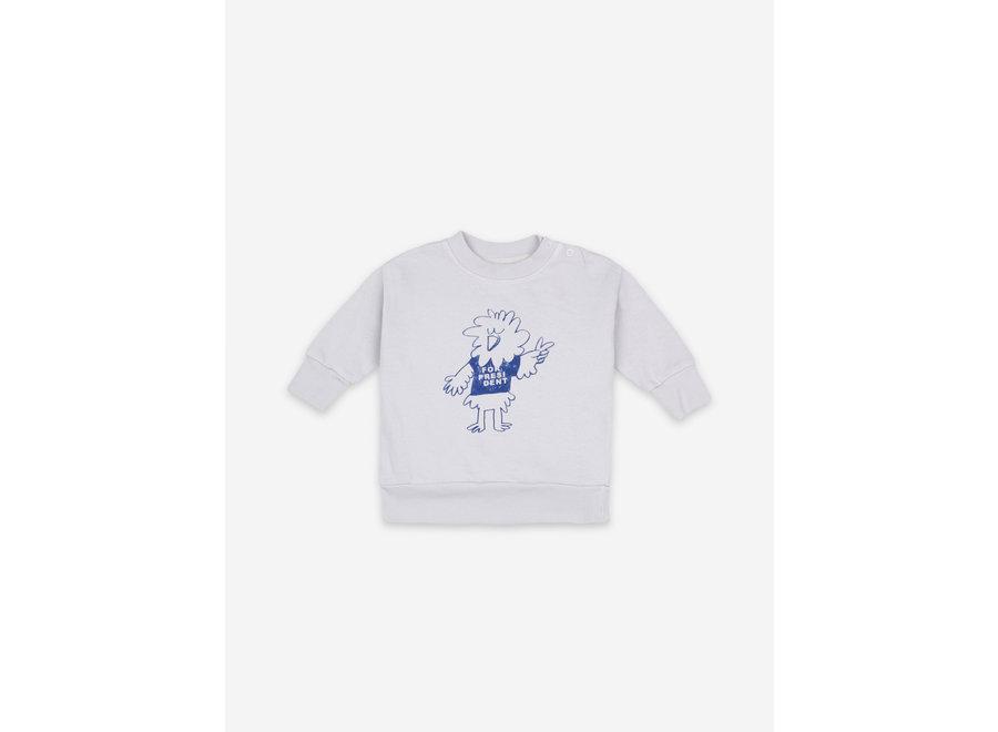 Sweatshirt Bird Says Yes