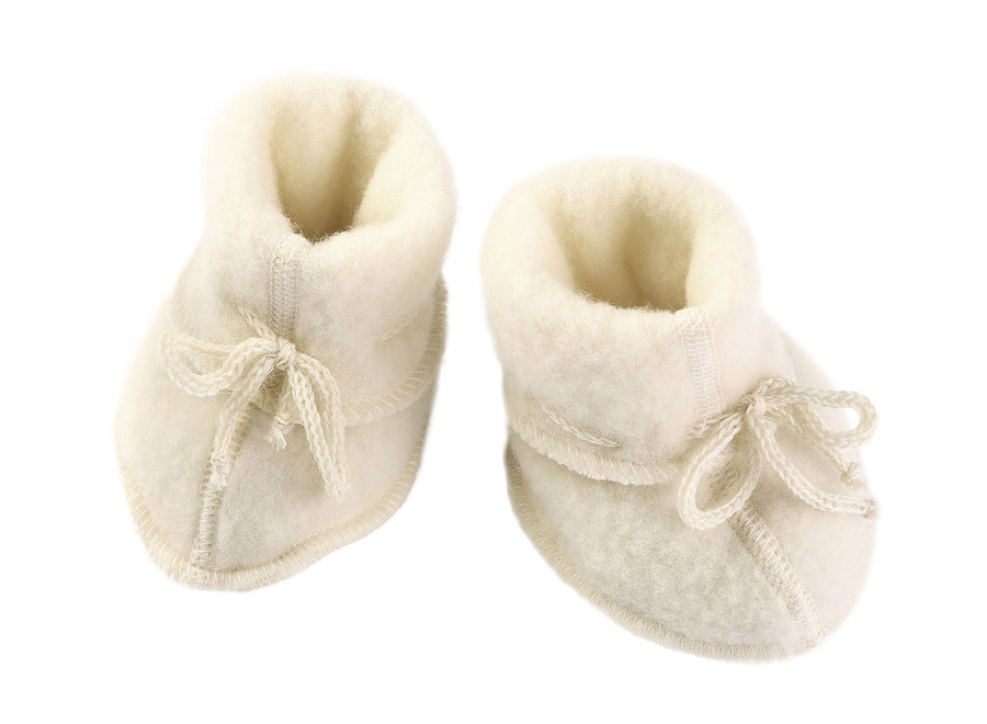 Baby Booties Natural