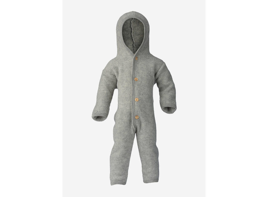 Engel Natur Hooded Overall Grey