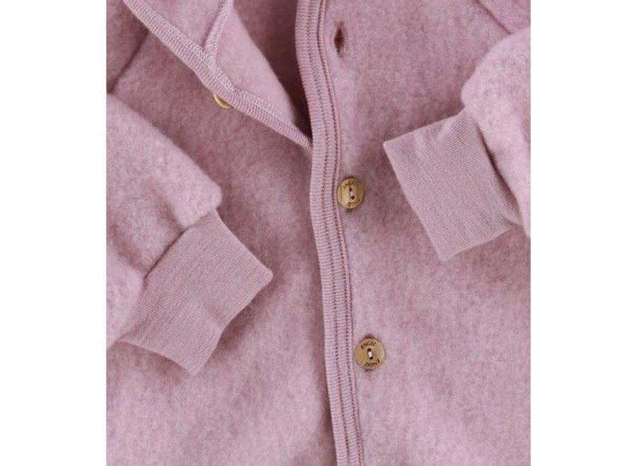 Engel Natur Hooded Jacket Rosewood