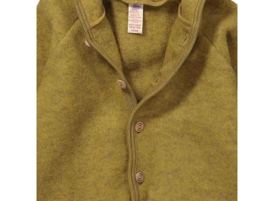 Engel Natur Hooded Jacket Saffron