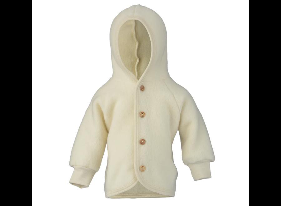 Hooded Jacket Natural