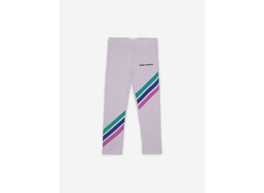 Leggings Crosswise Stripes
