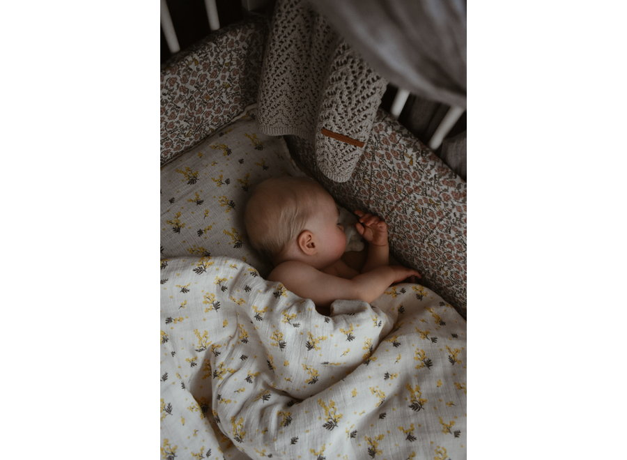 Bed Set Muslin Mimosa Junior